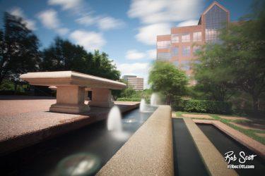 Lighton Plaza Fountain