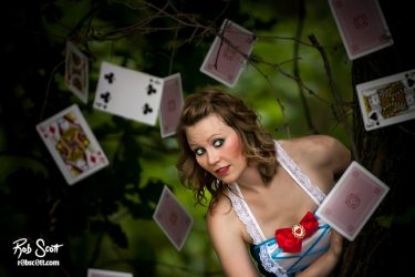 Alyssia in Wonderland